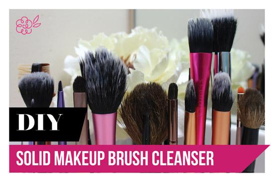 Makeup Brush Cleaner Diy