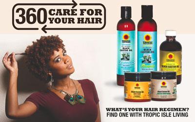 TI Living Hair Regimen