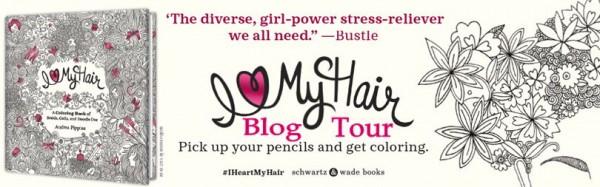 I Love My Hair Blog Tour Banner