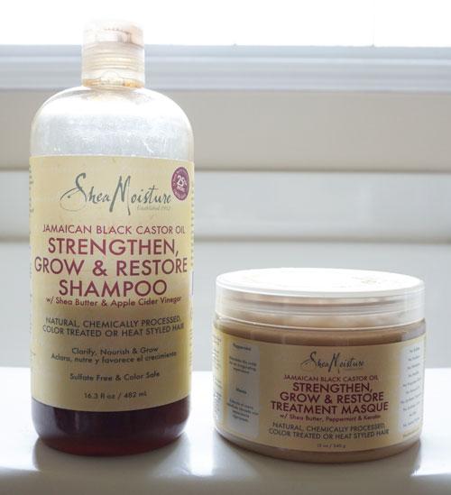 shea moisture jamaican black castor oil shampoo and conditioner